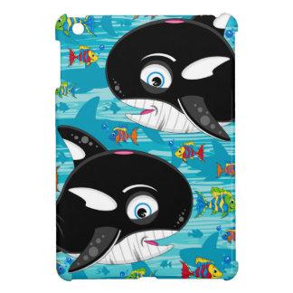 Cute Cartoon Killer Whale Pattern iPad Mini Cases