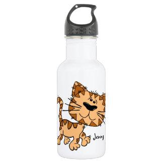 Cute Cartoon Kitty Cat Stainless Steel Water Bottle