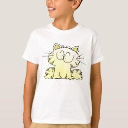 Cute Cartoon Kitty   Cute LOL Kitty Cat T-Shirt