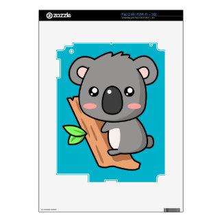 Cute Cartoon Koala Bear on Eucalyptus Tree Decal For iPad 2