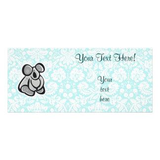 Cute Cartoon Koala Custom Rack Cards