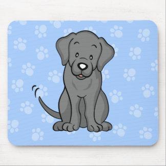Cute Cartoon Labrador Mousepad