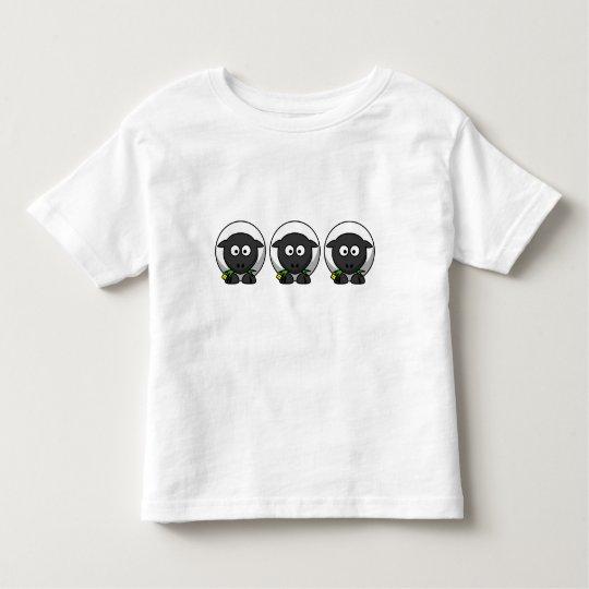 Cute Cartoon Lamb Toddler T-shirt