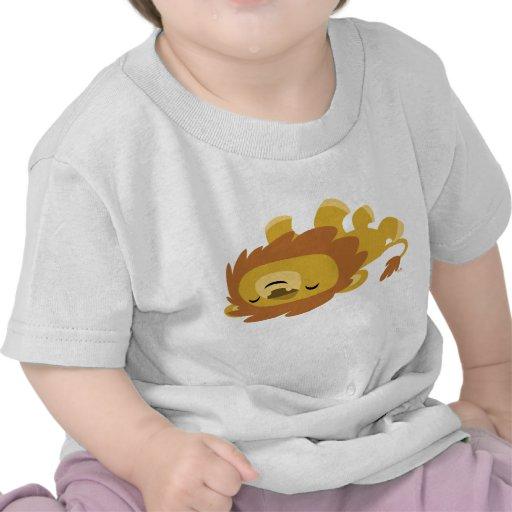 Cute Cartoon Lazy Lion Baby T-Shirt