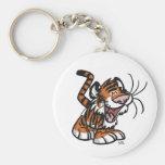 Cute Cartoon Lil'Tiger keychain