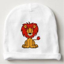 Cute Cartoon Lion Baby Beanie