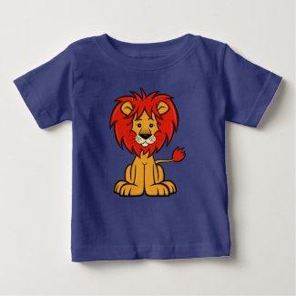 Cute Cartoon Lion Baby T-Shirt