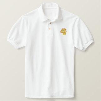 Cute Cartoon Lion embroidery Shirt
