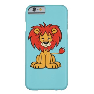 Cute Cartoon Lion iPhone 6 Case