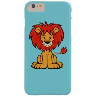 Cute Cartoon Lion iPhone 6 Plus Case