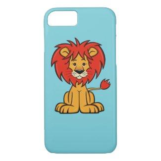 Cute Cartoon Lion iPhone 7 Case