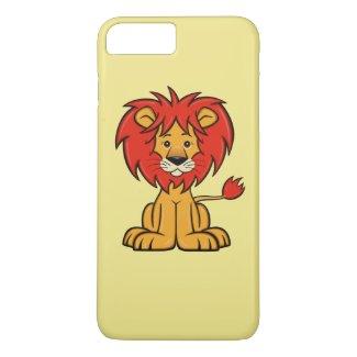 Cute Cartoon Lion iPhone 7 Plus Case