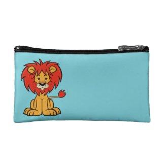 Cute Cartoon Lion Makeup Bag