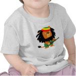 Cute Cartoon Lion of Zion Baby T-shirt