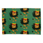 Cute Cartoon Lion Of Zion Pillowcase