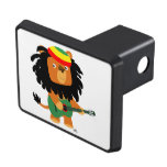 Cute Cartoon Lion Of Zion Tow Hitch Cover