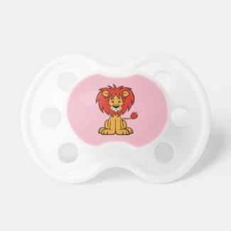 Cute Cartoon Lion Pacifier