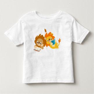 Cute Cartoon Lion Readers  children T-shirt