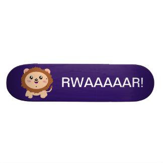 Cute cartoon Lion Custom Skateboard
