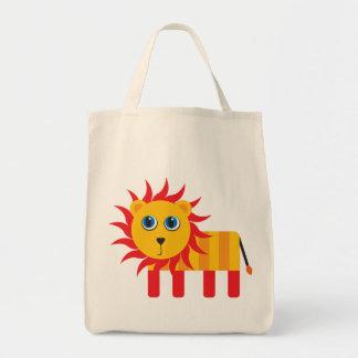 Cute Cartoon Lion Tote Bags