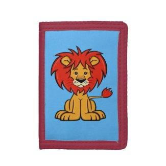 Cute Cartoon Lion Wallet