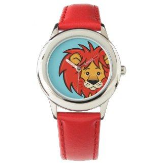 Cute Cartoon Lion Watch