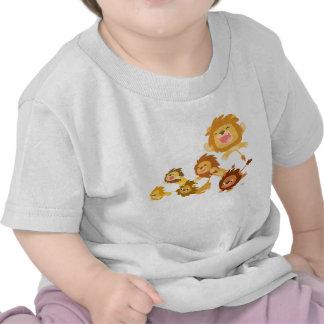 Cute Cartoon Lions' Parade Baby T-shirt