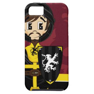Cute Cartoon Medieval Crusader Knight iPhone SE/5/5s Case