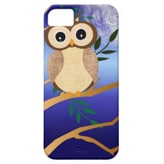 Cute cartoon midnight owl iPhone SE/5/5s case