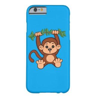 Cute Cartoon Monkey iPhone 6 Case