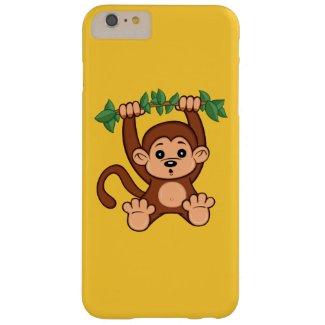 Cute Cartoon Monkey iPhone 6 Plus Case