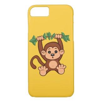 Cute Cartoon Monkey iPhone 7 Case