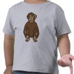 Cute cartoon monkey kids t-shirt