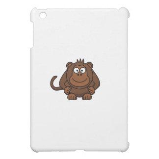 Cute Cartoon Monkey Template iPad Mini Cover