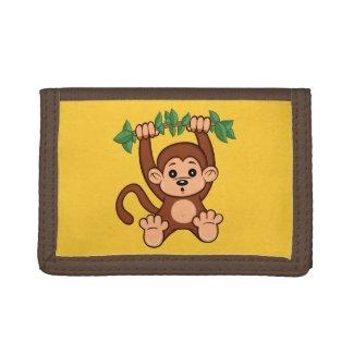 Cute Cartoon Monkey Wallet