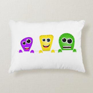 Cute Monster Pillow : Cute Monster Pillows - Decorative & Throw Pillows Zazzle
