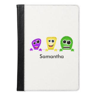 Cute cartoon monsters gang iPad air case