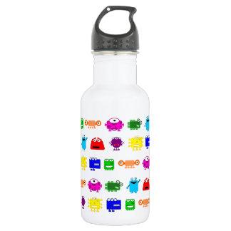 Cute Cartoon Monsters Water Bottle