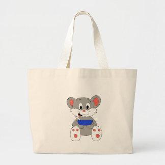 Cute Cartoon Mouse Large Tote Bag