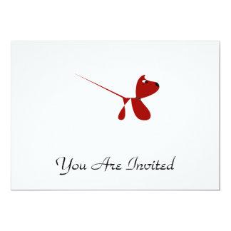 Cute Cartoon of Puppy dog Card