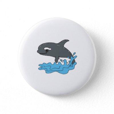 whale cartoon cute. cute cartoon orca killer whale