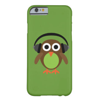 Cute Cartoon Owl DJ With Headphones iPhone 6 Case