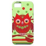 Cute cartoon Owl iPhone 5 Case-Mate Tough