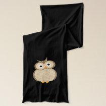 Cute cartoon Owl Scarf