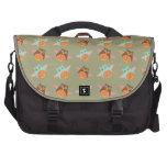 Cute cartoon owls laptop bag