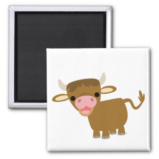 Cute Cartoon Ox magnet