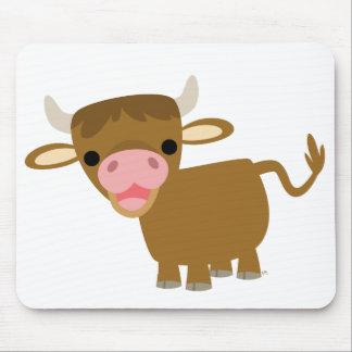 Cute Cartoon Ox mousepad