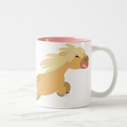 Cute Cartoon Palomino Pony Mug