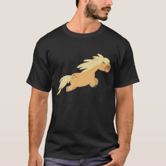Cute Cartoon Palomino Pony T-shirt