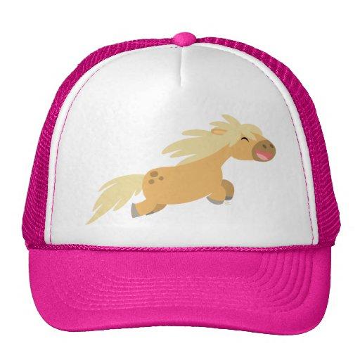 Cute Cartoon Palomino Pony Trucker Hat